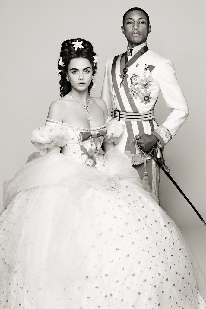 First Look at Cara Delevingne + Pharrell for New Chanel Film