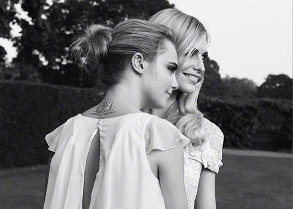 Cara Delevingne & Poppy Delevingne