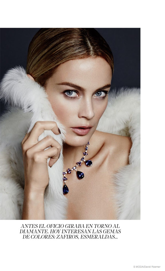 Carolyn Murphy Dons Jewelry for S Moda Shoot by David Roemer