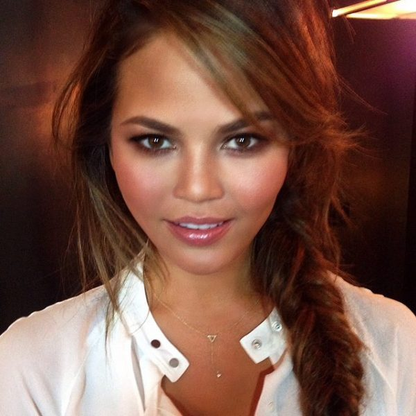 Chrissy Teigen. Photo via hungvanngo on Instagram