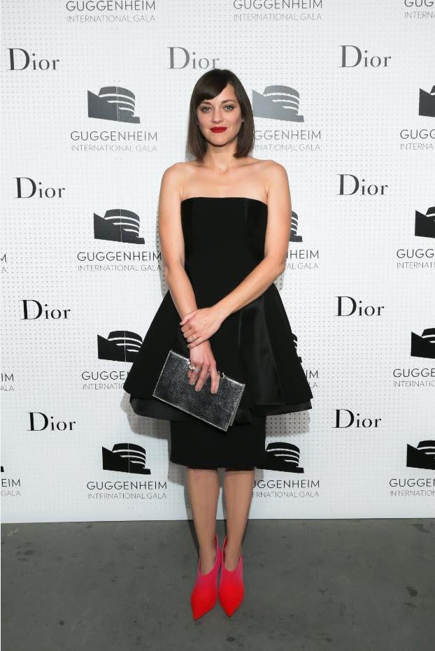 Marion Cotillard, Karlie Kloss, Nicola Peltz + More at Dior Guggenheim Gala Event