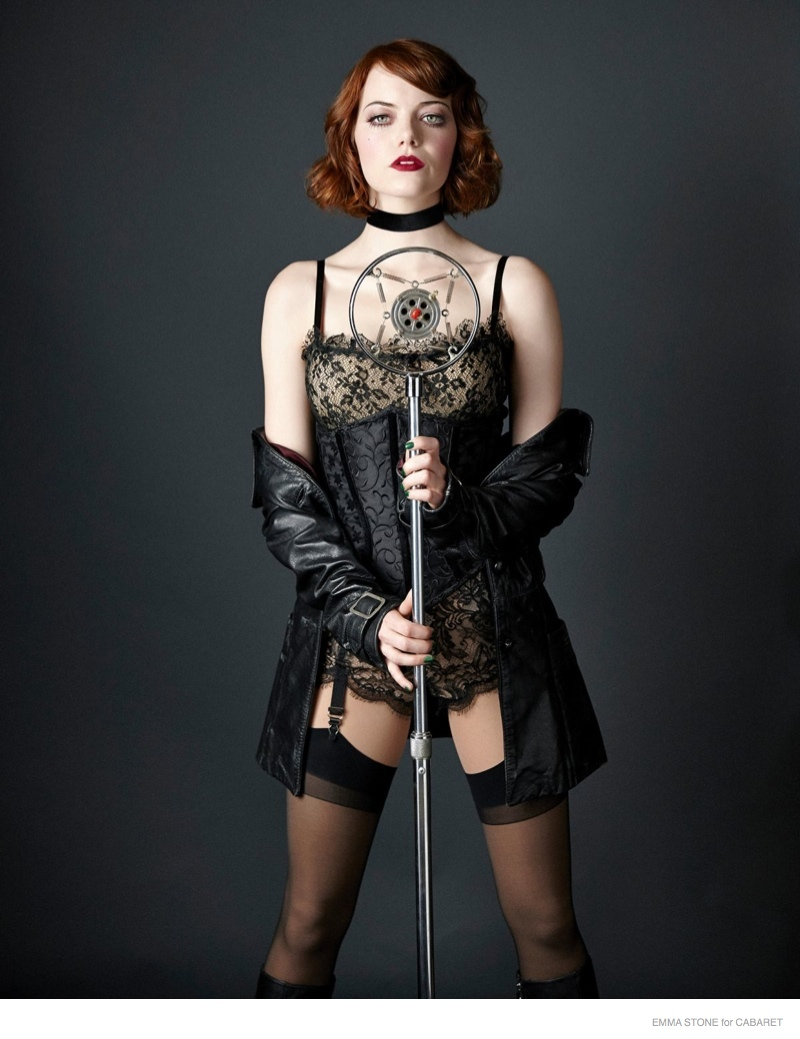 More Photos of Emma Stone in Character for Cabaret