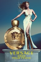 "Lara Stone is a Goddess in Versace ""Eros Pour Femme"" Ad"