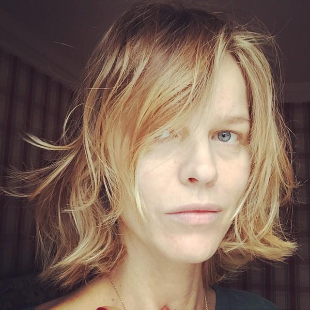 """Eva Herzigova does no makeup for """"Wake Up Call"""" UNICEF image"""
