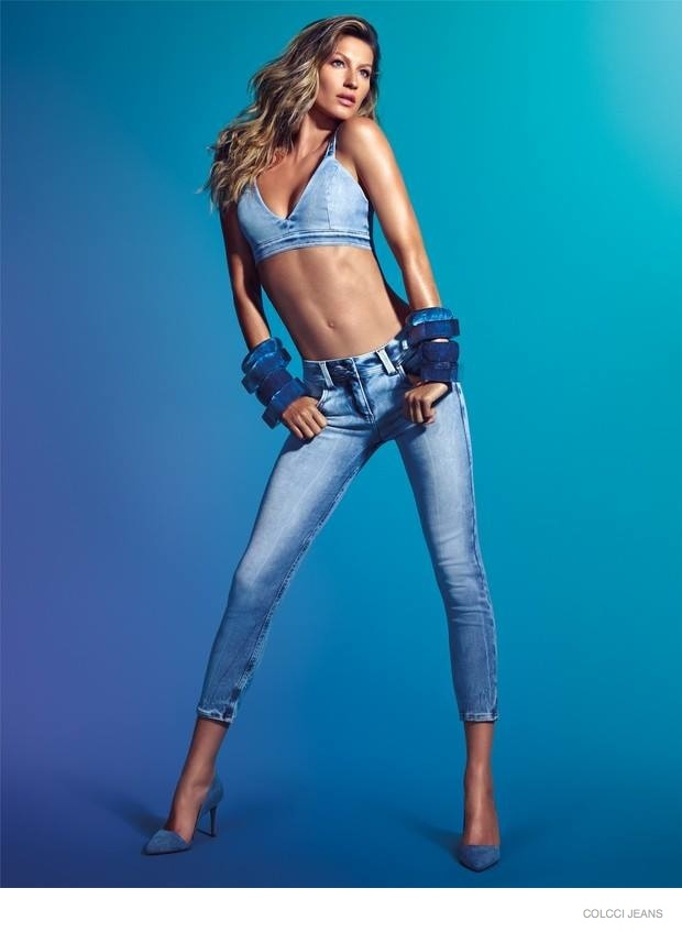 Gisele Bundchen Rocks Denim for New Colcci Jeans Advertisements