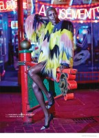 Grace Bol Wears Bold Fashion in Archetype Magazine's F/W 2014 Cover Shoot