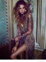 Heather Marks Models Dreamy Looks for Elle Russia by Xavi Gordo