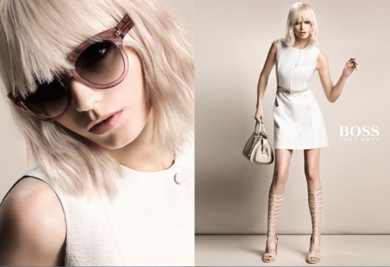 First Look: Abbey Lee Kershaw for Hugo Boss' Spring 2015 Camapign