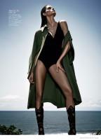 Izabel Goulart Has Legs for Days in Cover Story for Harper's Bazaar Brazil