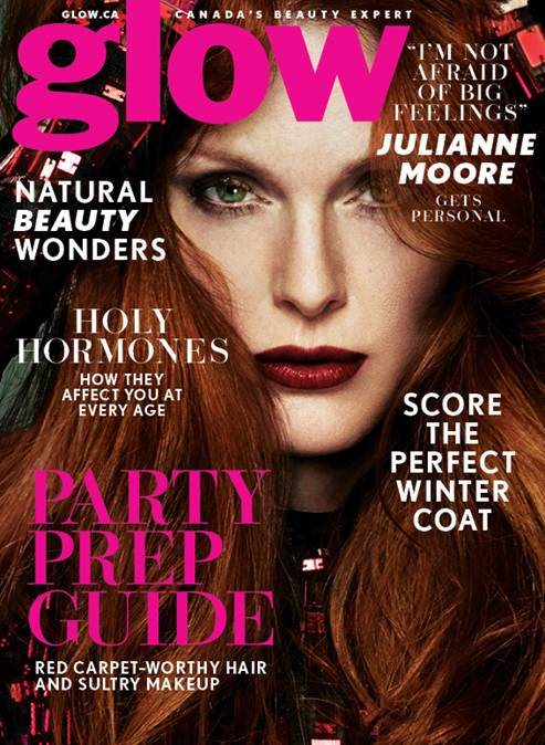 Julianne Moore Covers Glow, Calls Meryl Streep Her Role Model