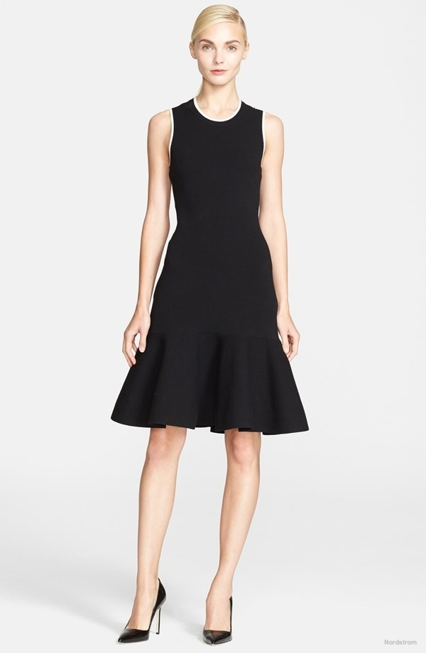 kate spade new york 'Fluted' Stretch Sweater Dress available at Nordstrom for $171.20