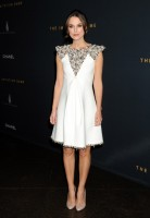 """Keira Knightley Dons Chanel Couture Dress at """"The Imitation Game"""" LA Screening"""