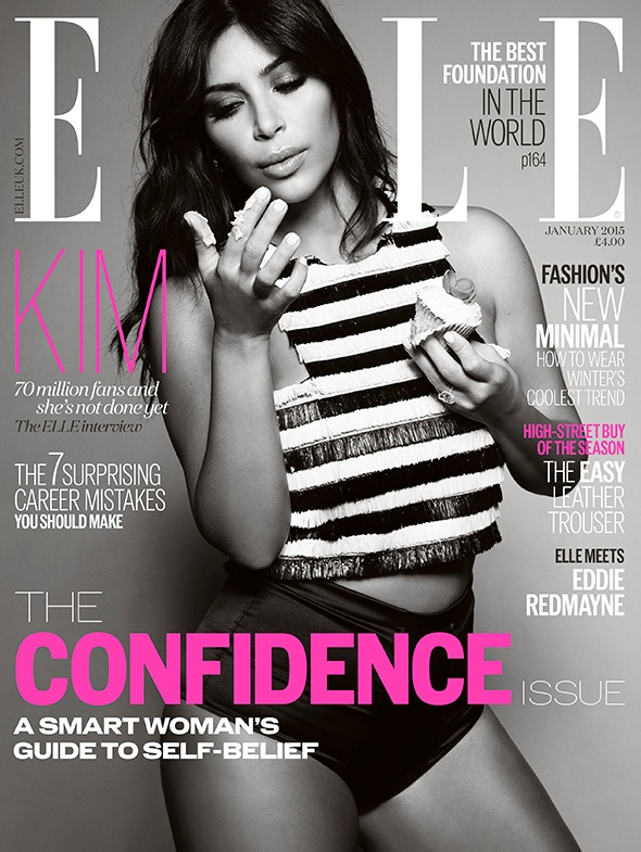ELLE UK Editor Defends Kim Kardashian Cover