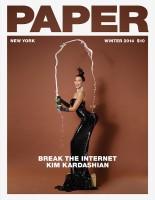 Kim Kardashian Goes Naked on Paper Magazine Winter 2014 Cover