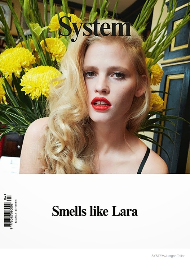 Lara Stone went unretouched for her cover story of Document magazine. Photo: Juergen Teller