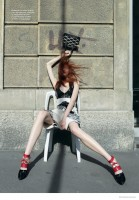 Anastasia Ivanova Models Louis Vuitton for SnC by Nikolay Biryukov