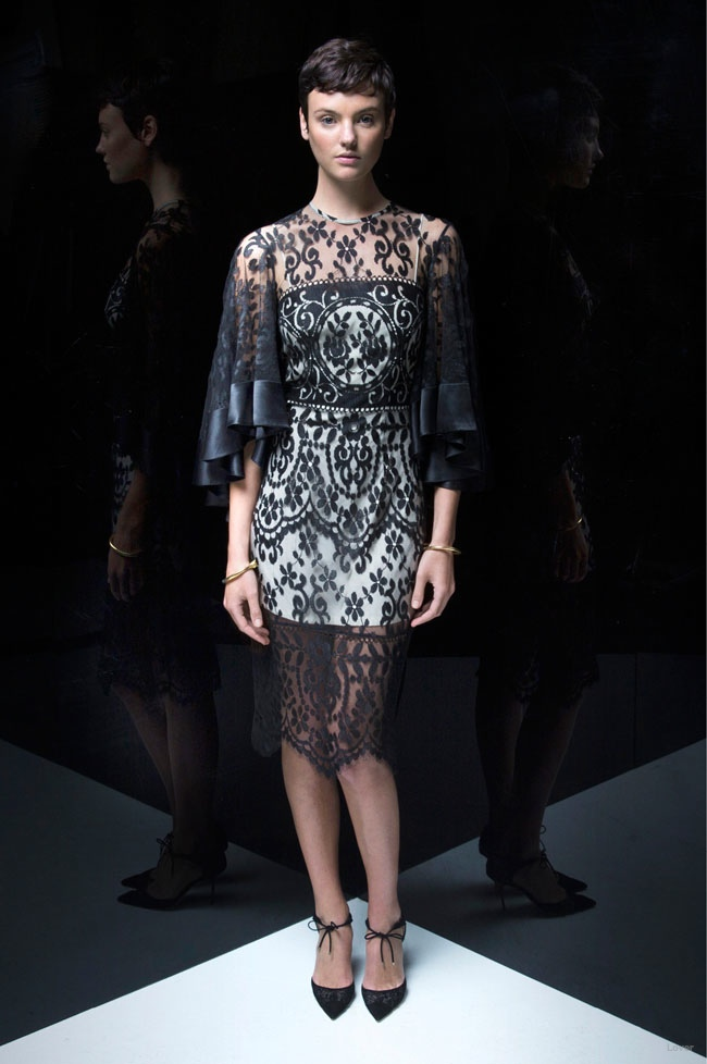 "Bewitching Style: Lover Designs Lace Looks with ""Black Magick"" Line"