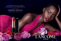 Lupita Nyong'o Stuns in New Lancome L'Absolu Rouge Ad