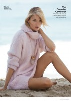 Martha Hunt Dons Cozy Knits for Hans Neumann Shoot in Lucky