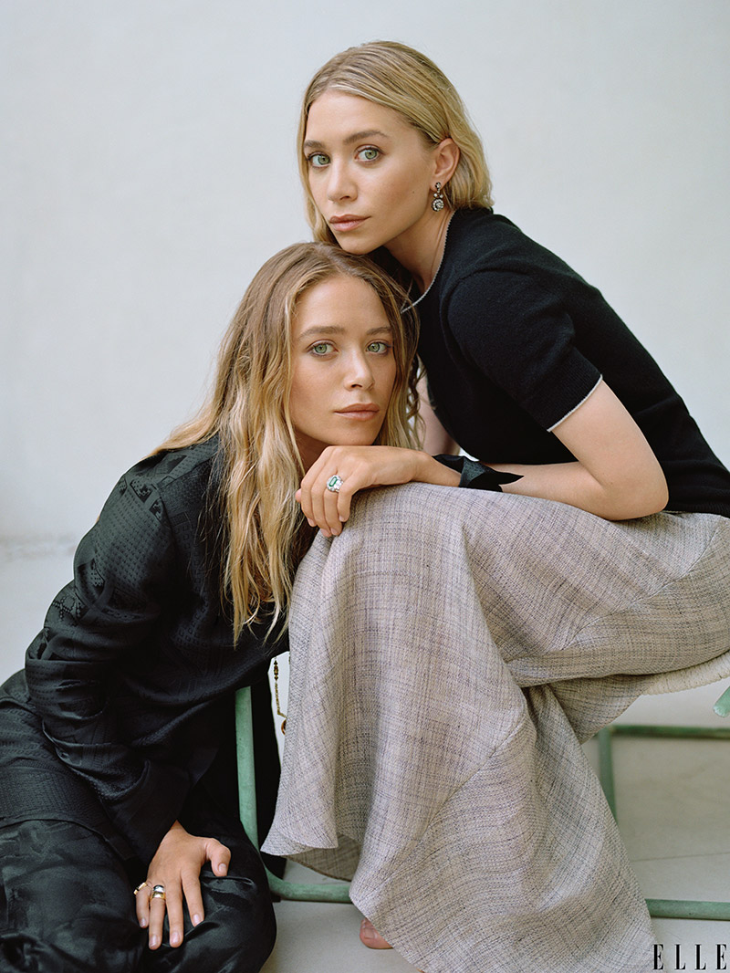 Mary-Kate & Ashley Olsen Talk 10 Years of The Row with ELLE