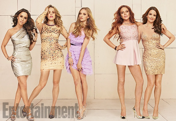 "OMG! ""Mean Girls"" Cast Reunites for Entertainment Weekly Shoot"
