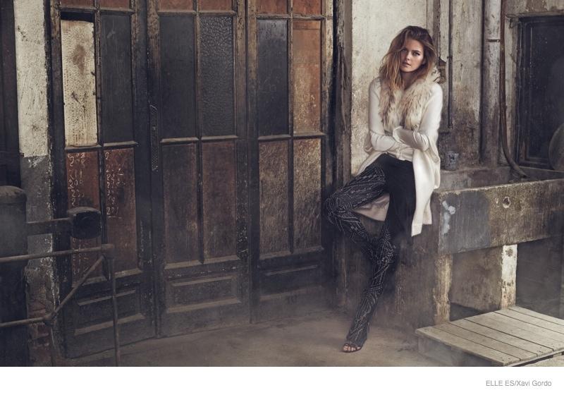 Michaela Hlavackova Smolders for Elle Spain by Xavi Gordo