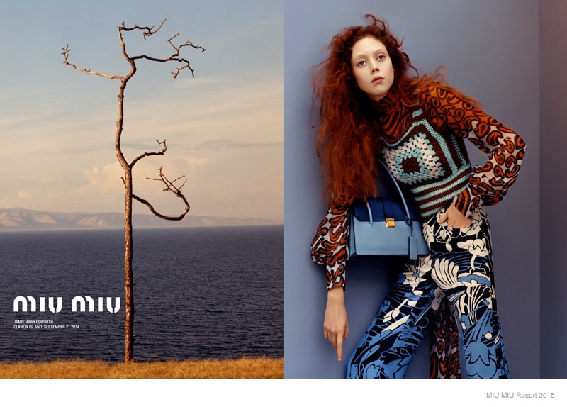 More Photos Of Miu Miu S Resort 2015 Ads