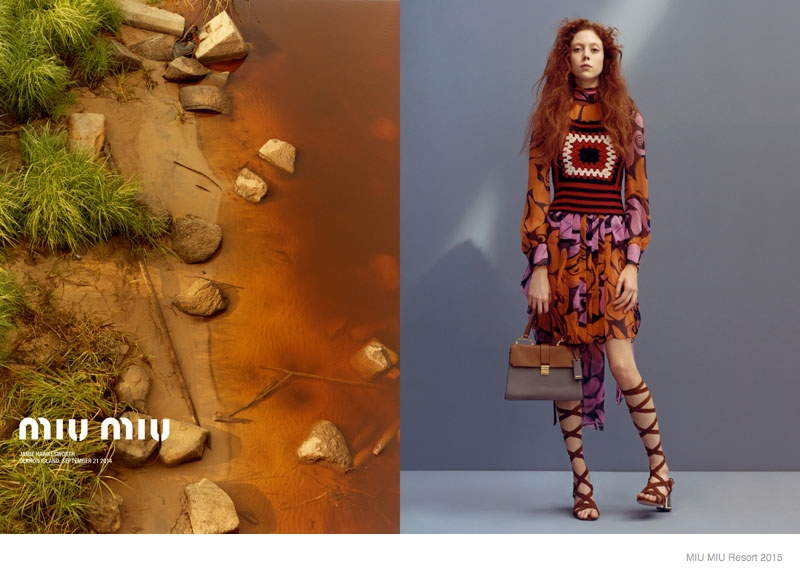 More Photos of Miu Miu's Resort 2015 Ads