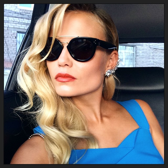 Natasha Poly has been tapped as new face of Emilio Pucci's upcoming spring 2015 ads. Photo: Model's Instagram.