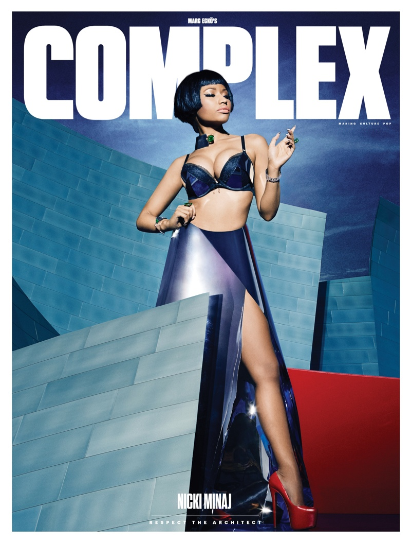 Nicki Minaj Covers Complex, Talks Wanting Kids