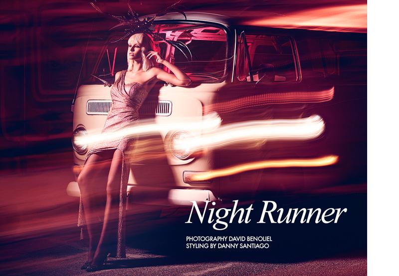 "FGR Exclusive | Gintare Sudziute by David Benoliel in ""Night Runner"""