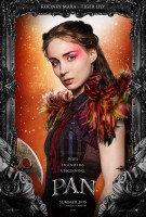 """Rooney Mara Poses as Tiger Lily for """"Pan"""" Poster"""
