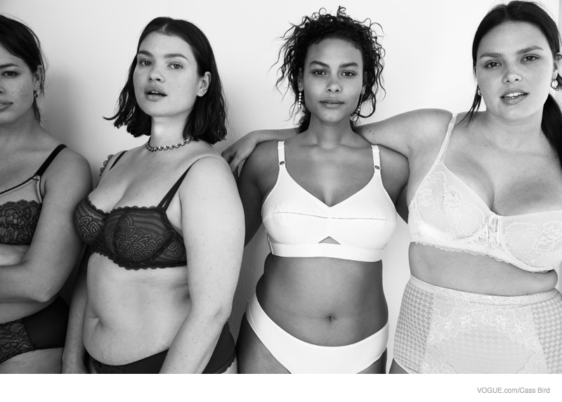 Vogue Features Bra Sizes for All in Online Feature