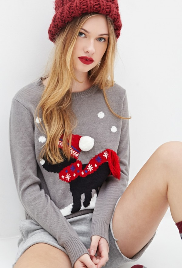puppy-christmas-sweater-forever-21