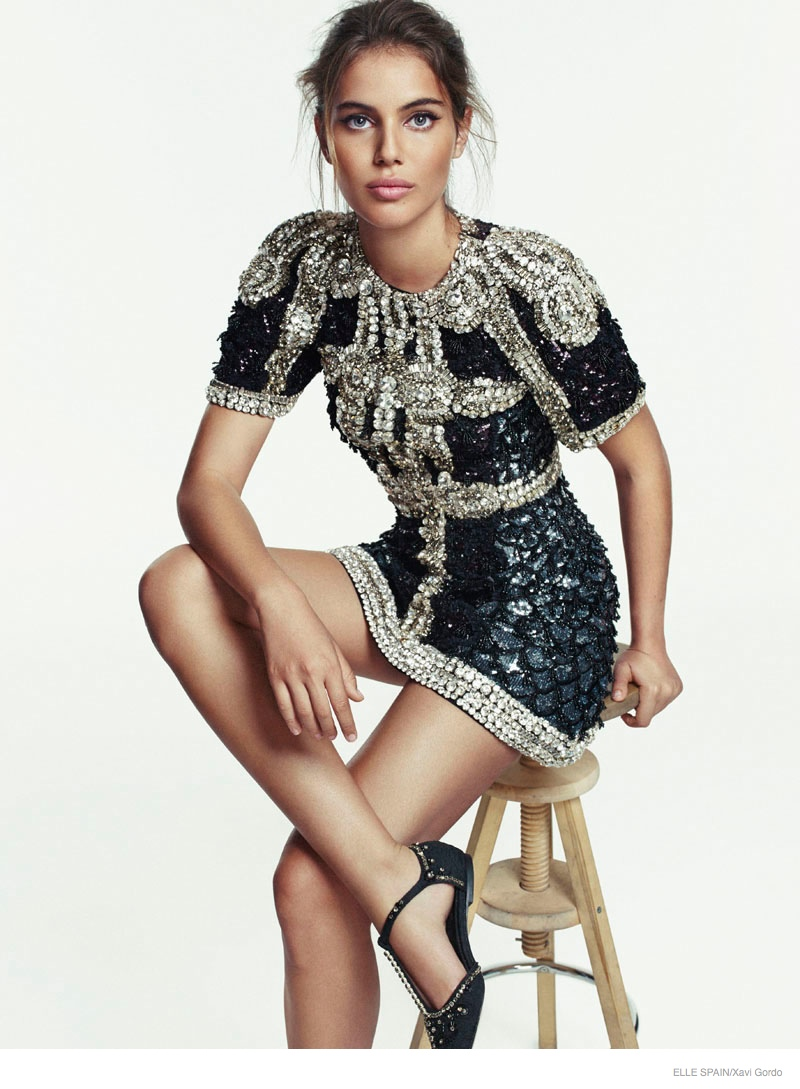 Shiloh Malka Models Chic Style for Elle Spain by Xavi Gordo