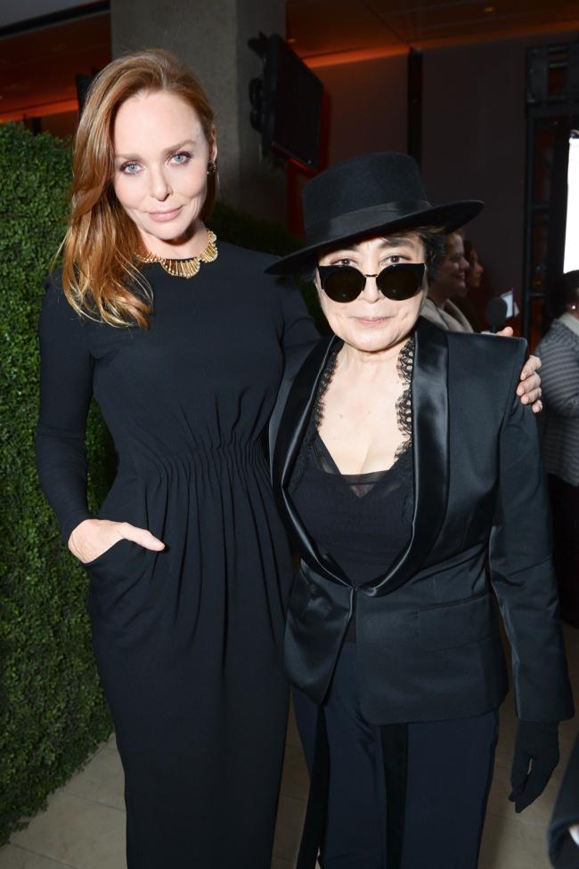 Stella McCartney & Yoko Ono