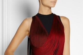 stella-mccartney-red-fringe-dress