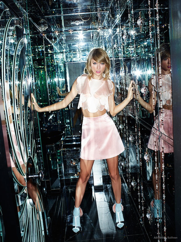 Taylor Swift Gets Her Shine on for ASOS Magazine