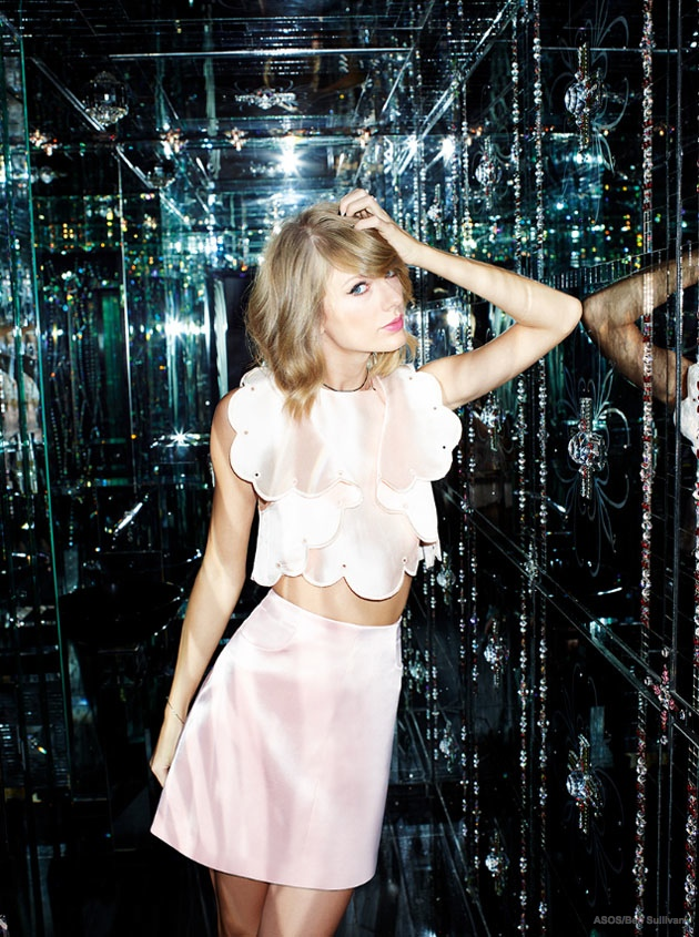 taylor swift asos magazine january 2015 03 Taylor Swift Gets Her Shine on for ASOS Magazine
