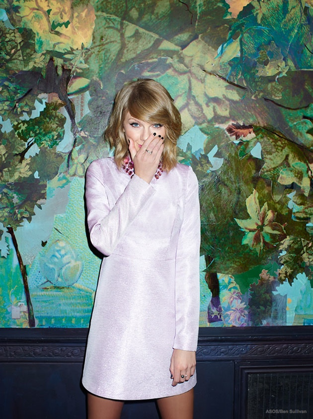 taylor swift asos magazine january 2015 05 Taylor Swift Gets Her Shine on for ASOS Magazine