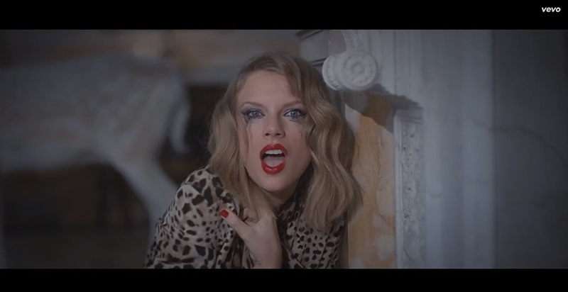"Taylor Swift Goes Crazy in ""Blank Space"" Music Video"