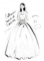 "Illustrator Megan Hess' ""The Dress"" Captures Iconic Looks in Fashion"