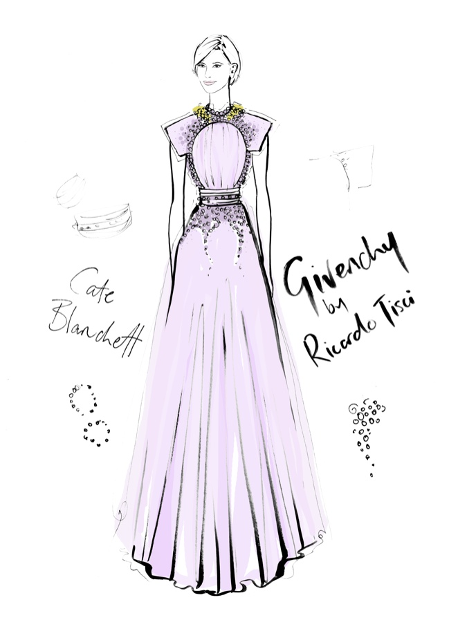 Illustrator megan hess the dress captures iconic looks in