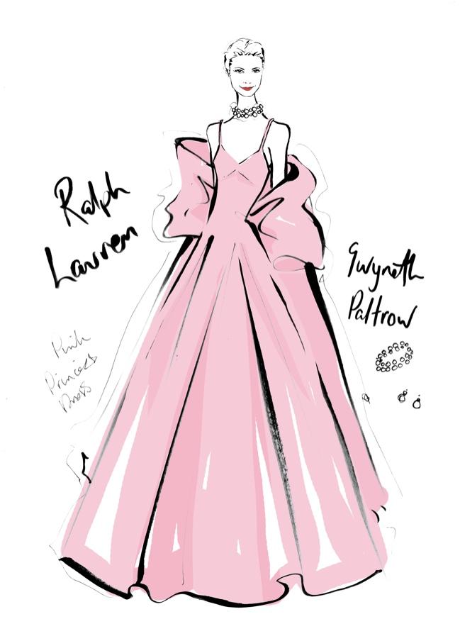 Illustrator Megan Hess The Dress Captures Iconic Looks