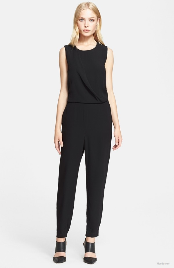 Theory 'Daimine' Crepe Jumpsuit available at Nordstrom for $272.98