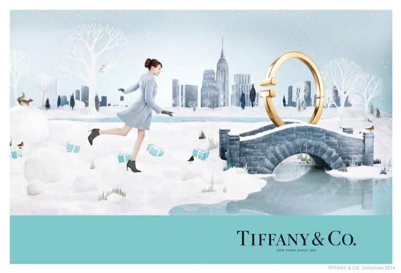 tiffany co christmas 2014 ad campaign01 Tiffany & Co. Has a New York Christmas in New Holiday Ads