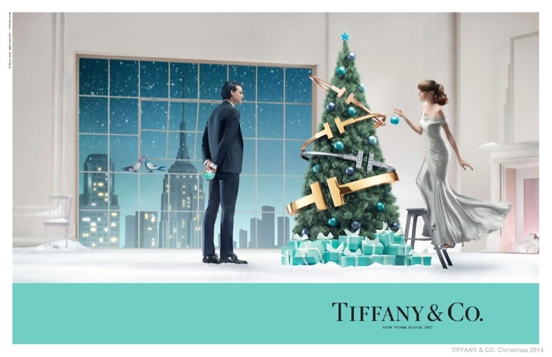 tiffany co christmas 2014 ad campaign02 Tiffany & Co. Has a New York Christmas in New Holiday Ads