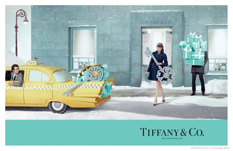 tiffany co christmas 2014 ad campaign03 Tiffany & Co. Has a New York Christmas in New Holiday Ads