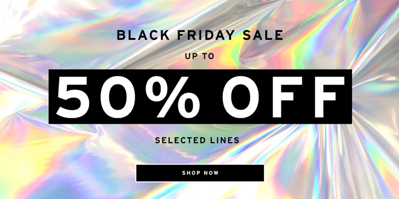 Topshop launches Black Friday 2018 sale in USA