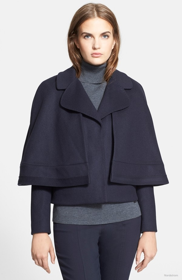 Tory Burch Jess Convertible Cape Jacket available at Nordstrom for $595.00